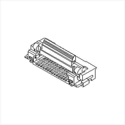 molex  FFC/FPC连接器54104系列 0.5mm