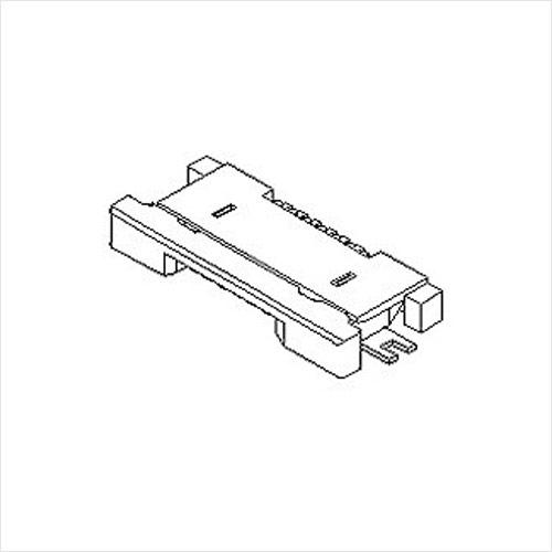 molex  FFC/FPC连接器54548系列 0.5mm