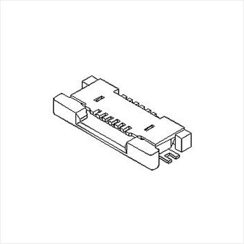molex  FFC/FPC连接器54550系列 0.5mm