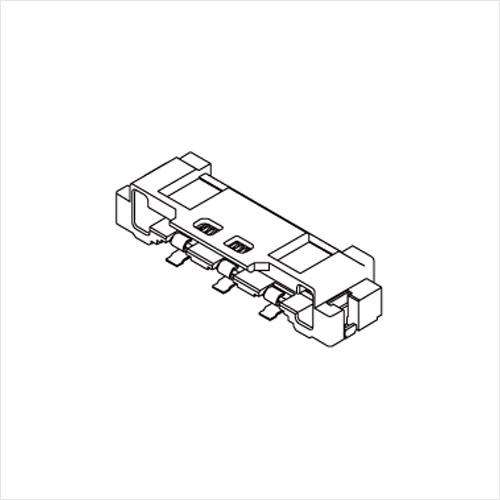 molex  FFC/FPC连接器501864系列 0.5mm