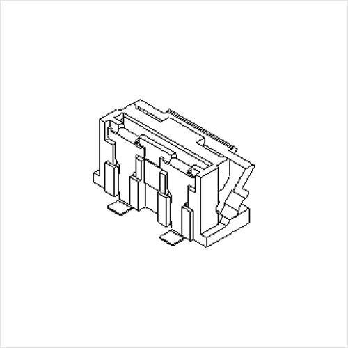 molex  FFC/FPC连接器502231系列 0.5mm