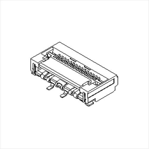 molex  FFC/FPC连接器502244系列 0.5mm