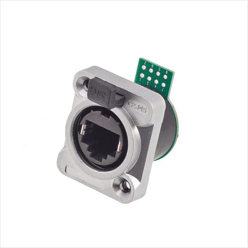 防水工业RJ45-PX插座-PCB短板