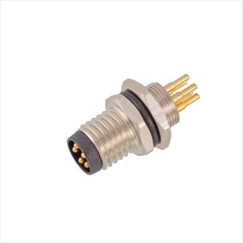 M8板前安装针型插座PCB